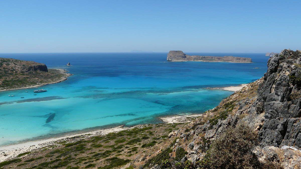 """Mon coup de coeur """"voyage et mer"""": le lagon de Balos."""