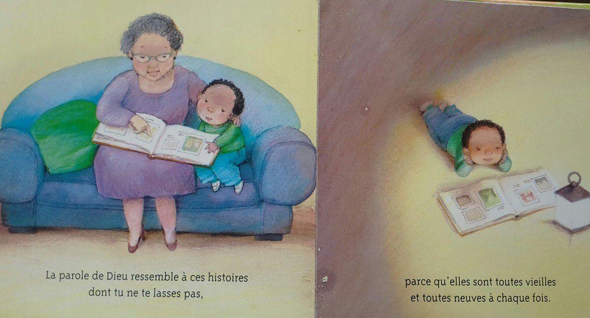 Un livre comme cadeau de baptême? [chut, les enfants lisent! #13]