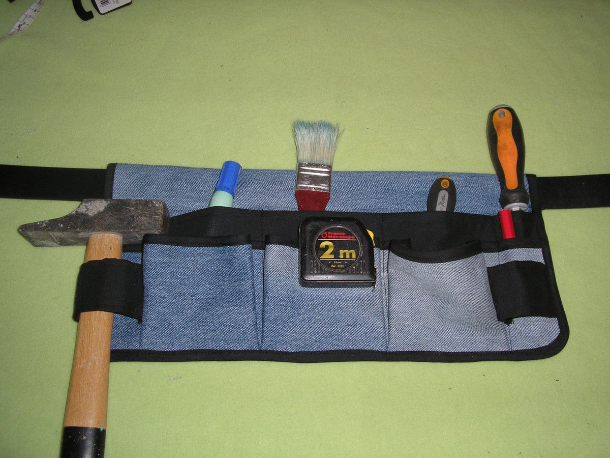 ceinture porte outils tuto diy tutolibre. Black Bedroom Furniture Sets. Home Design Ideas