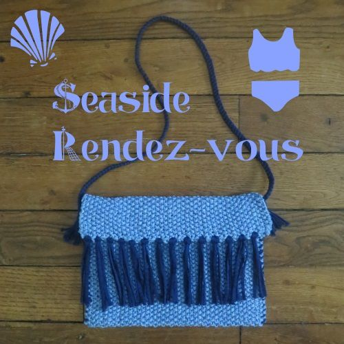 pochette sea side au tricot - tuto - DIY