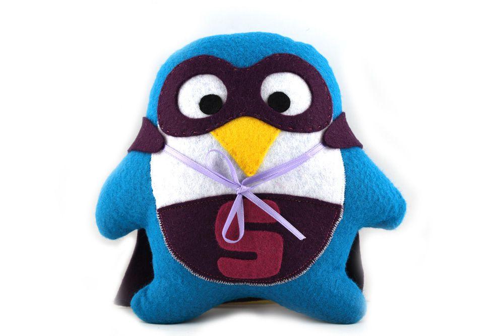super pingouin (tutoriel gratuit - DIY)