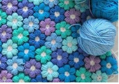 Couverture Fleurs Au Crochet Tutoriel Gratuit Diy