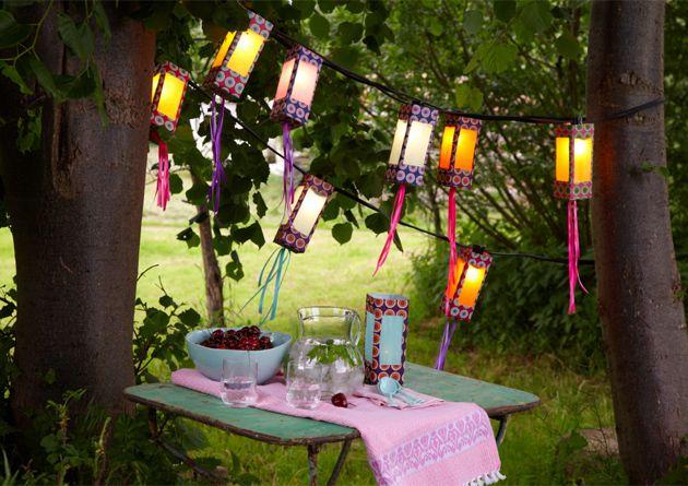 guirlande lanternes en récup (tutoriel gratuit - DIY)