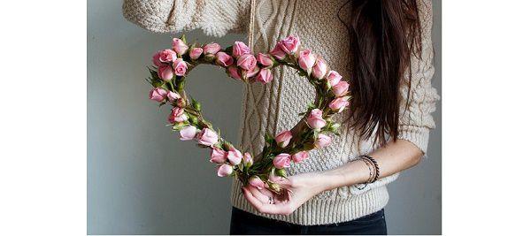 coeur fleuri (tutoriel gratuit - DIY)