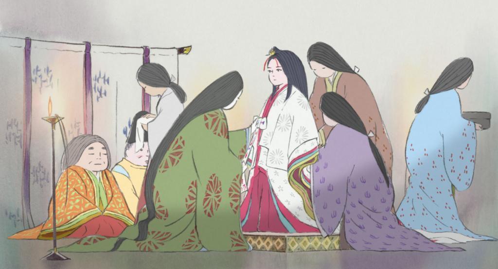 Sortie Ciné Le Conte De La Princesse Kaguya Isao Takahata
