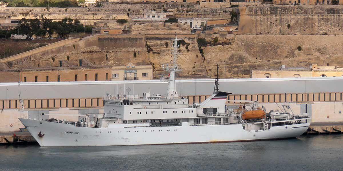 Le Sibiriakov à Malte, le 24 octobre 2014. Source : Shipspotting.