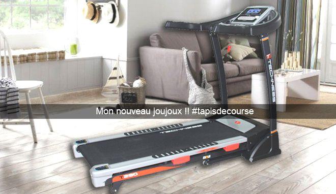 Merci Papa Pour Le Tapis De Course Tool Fitness Les Defis
