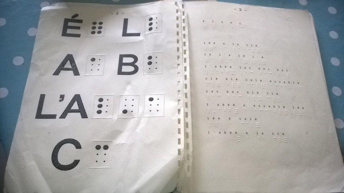 Se mettre au Braille
