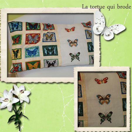 Dame tortue et l'envolée de papillon