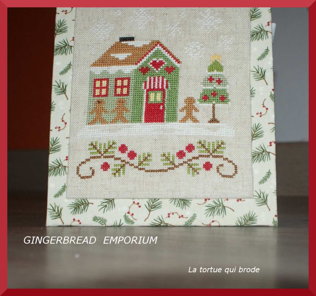 Dame tortue et &quot&#x3B;The Gingerbread emporium&quot&#x3B;