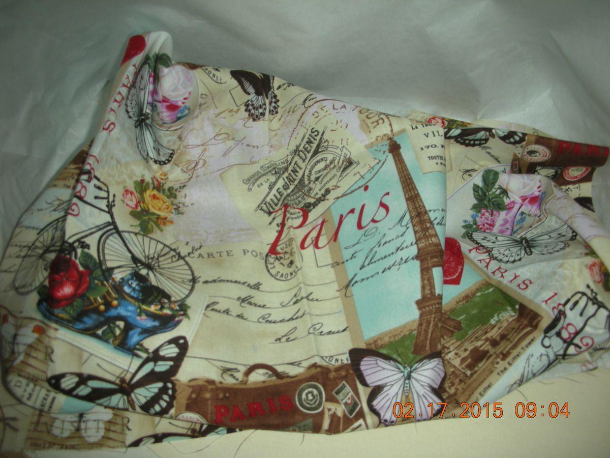tissu de Paris, eh oui !!! vous me connaissez !!??