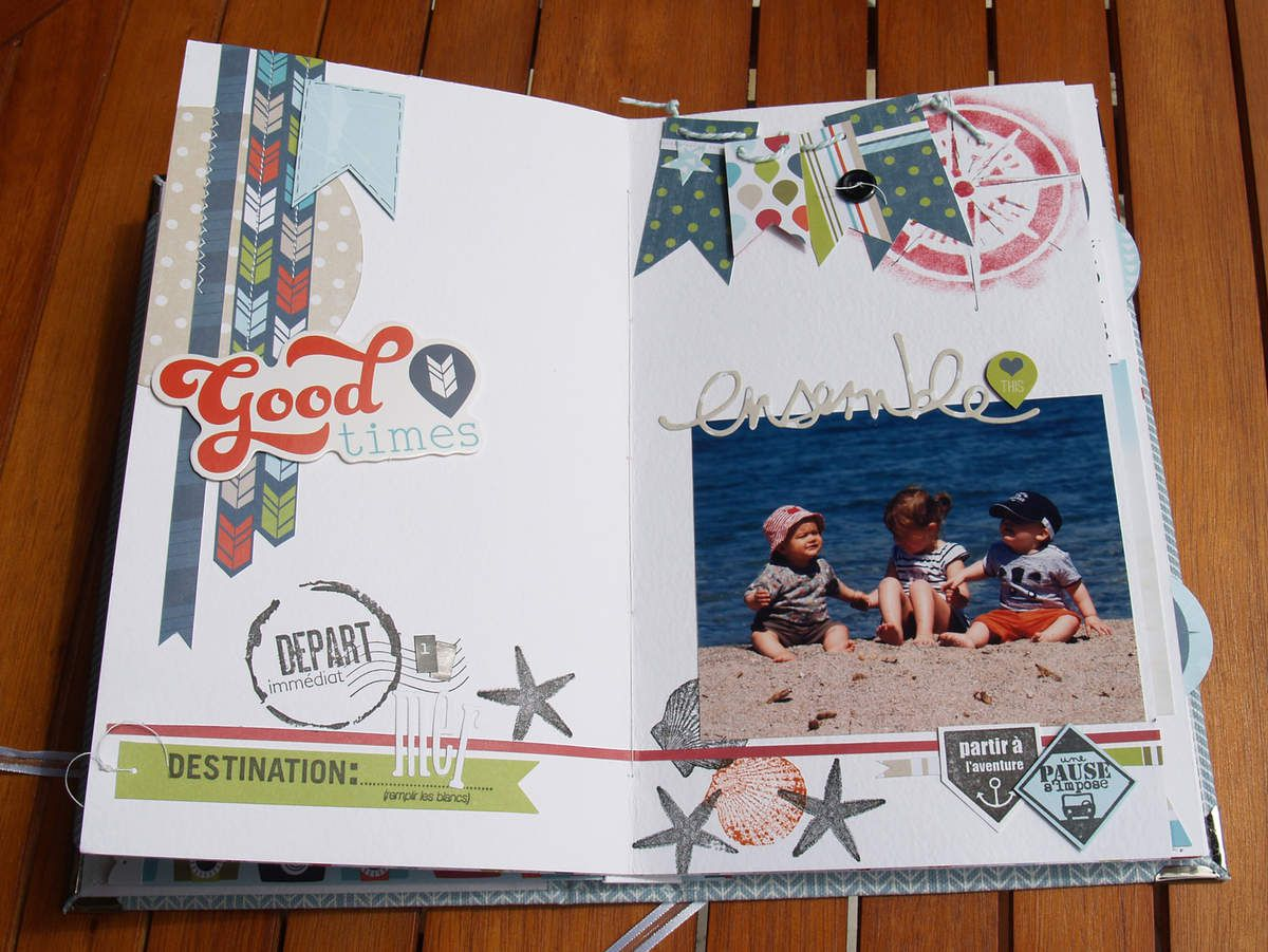 Anne : Album en détails (Kit de Septembre)