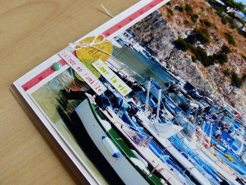Mylène : Album &quot&#x3B;en mode vacances&quot&#x3B; - kit + tutoriel