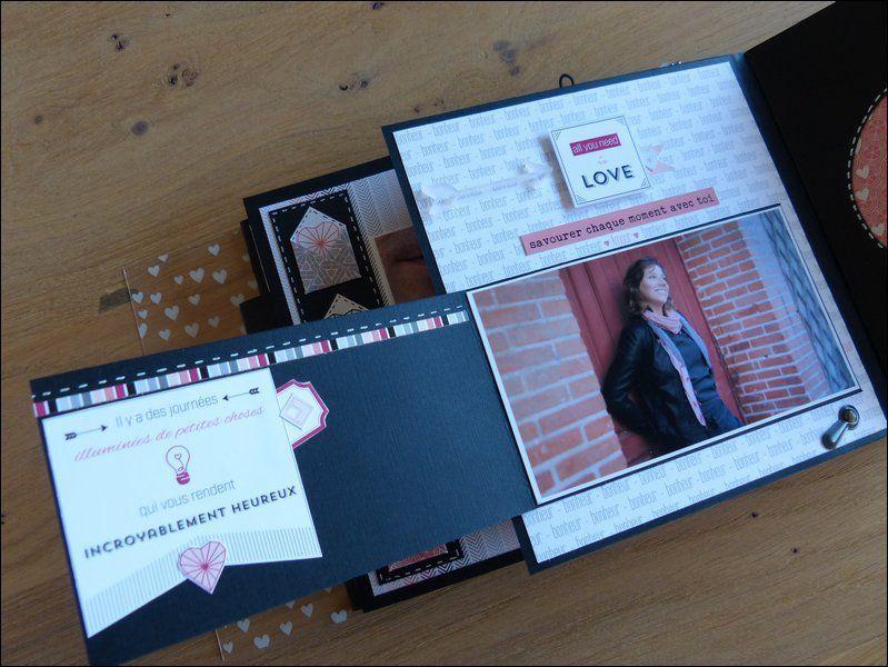 Mylène : Album du kit du mois &quot&#x3B; CHaque instant est précieux&quot&#x3B;