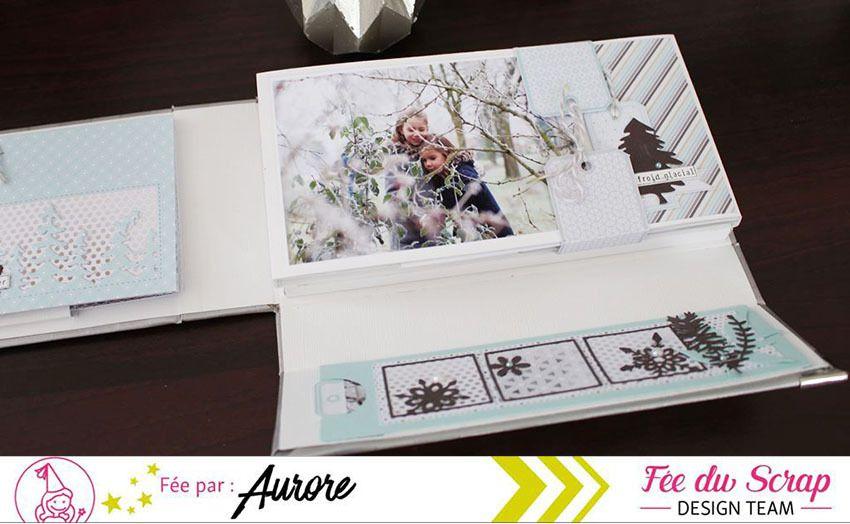 Aur0re #Album &quot&#x3B;La Douceur de l'Hiver&quot&#x3B; - Kit du Mois de Février (partie 3)