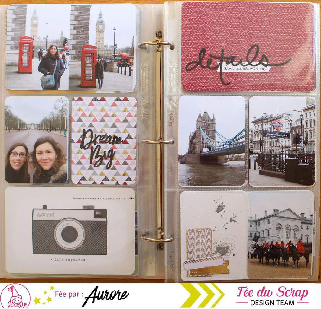 Aur0re_Project Life en Fée du Scrap