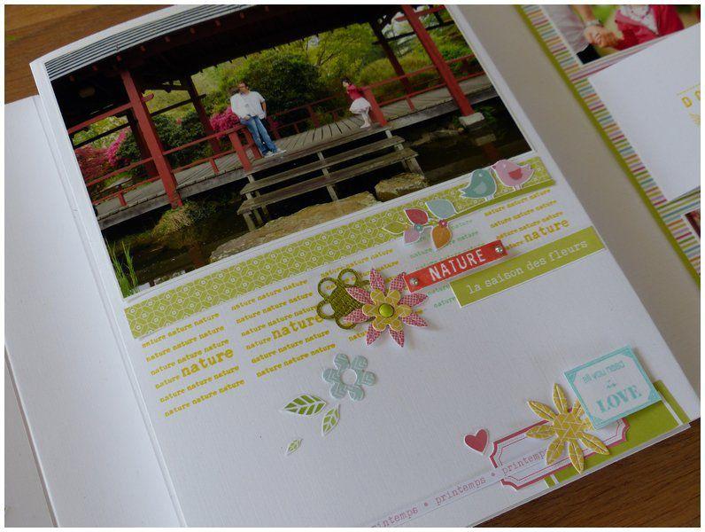 Mylène : Album &quot&#x3B;La douceur du printemps&quot&#x3B; - Kit d'Avril