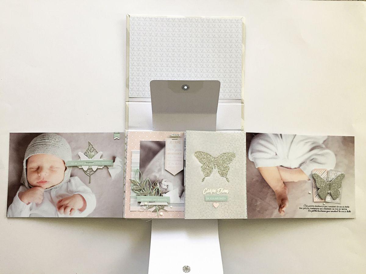 Annliz : Kit du mois mini album &quot&#x3B;jolis souvenirs&quot&#x3B; visuel