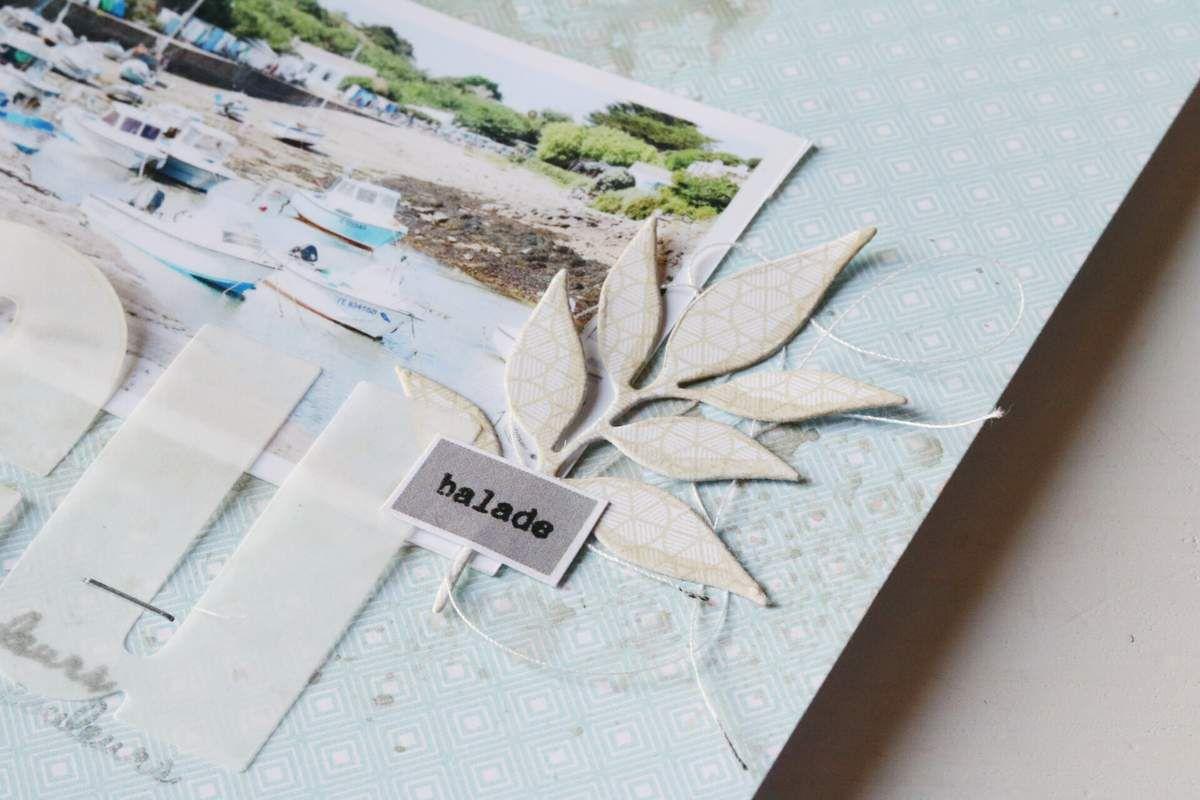 Invitée créative - Siléo - 2 pages en &quot&#x3B;Un air hivernal&quot&#x3B;