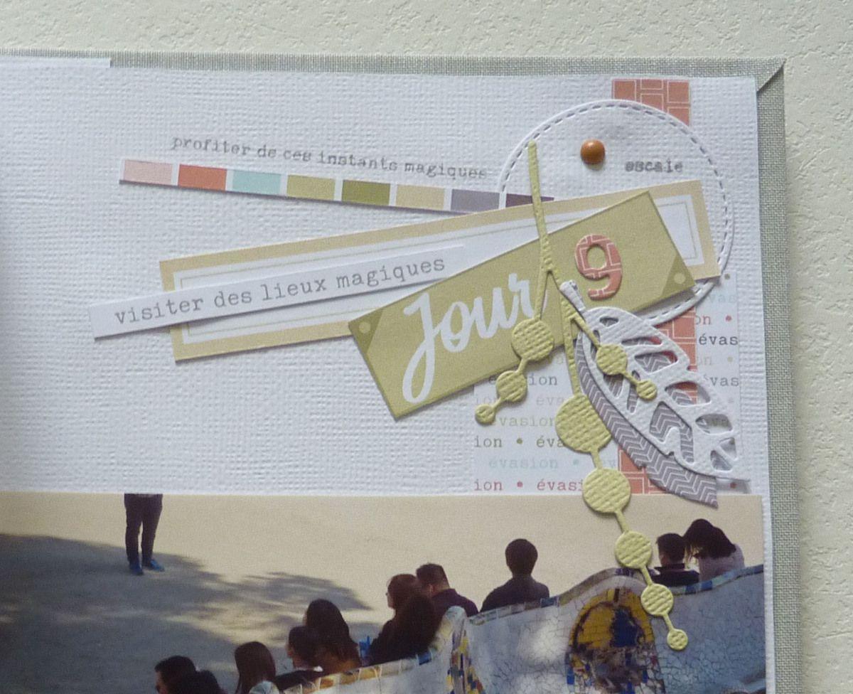 Anne : Kit du mois - Album Voyage