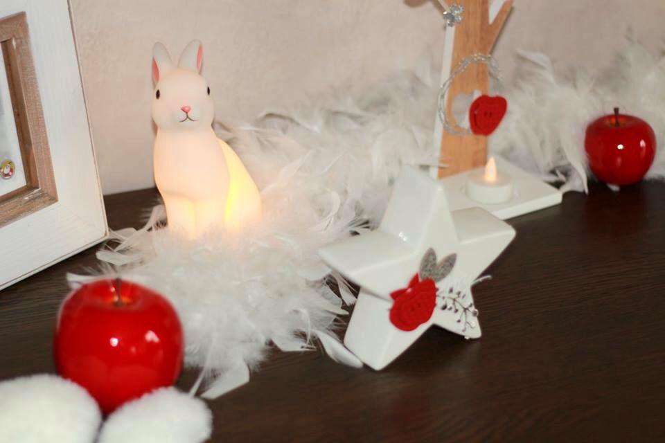 J-6 : Marilyne Deco rouge et blanche