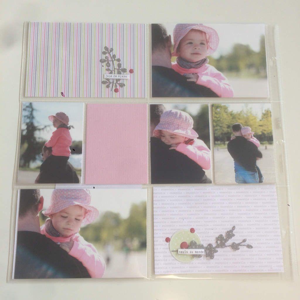 Marilyne &#x3B; Project Life avec les papiers de la fée