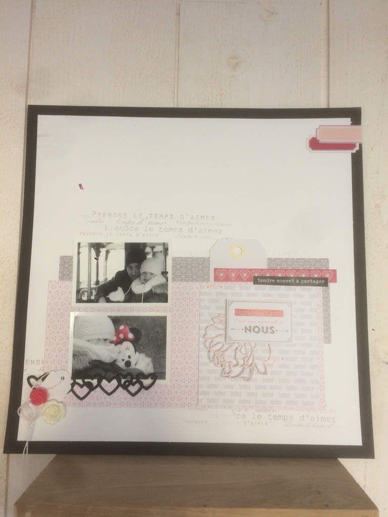Marilyne ; une page avec la collection un air Romantique