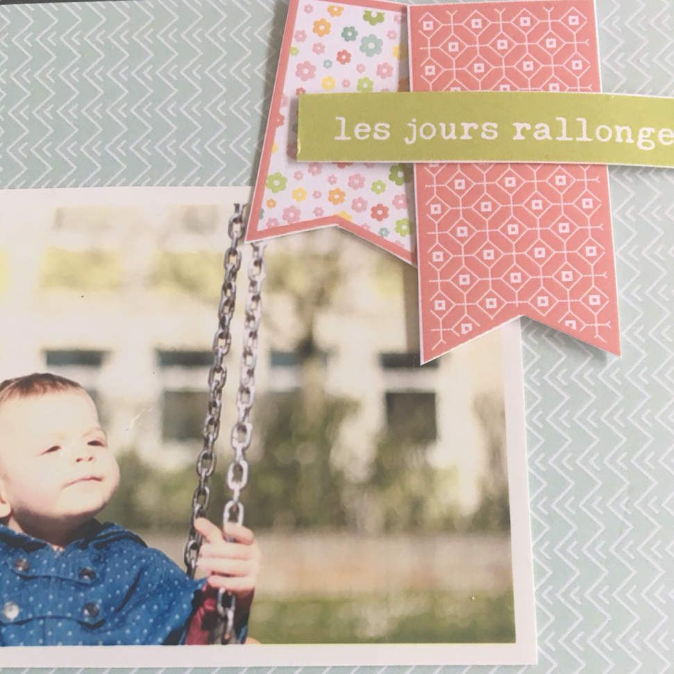 Marilyne : project Life : Collection un air printanier et un air estival