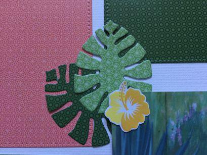 Page avec la collection un air tropical Sandrine
