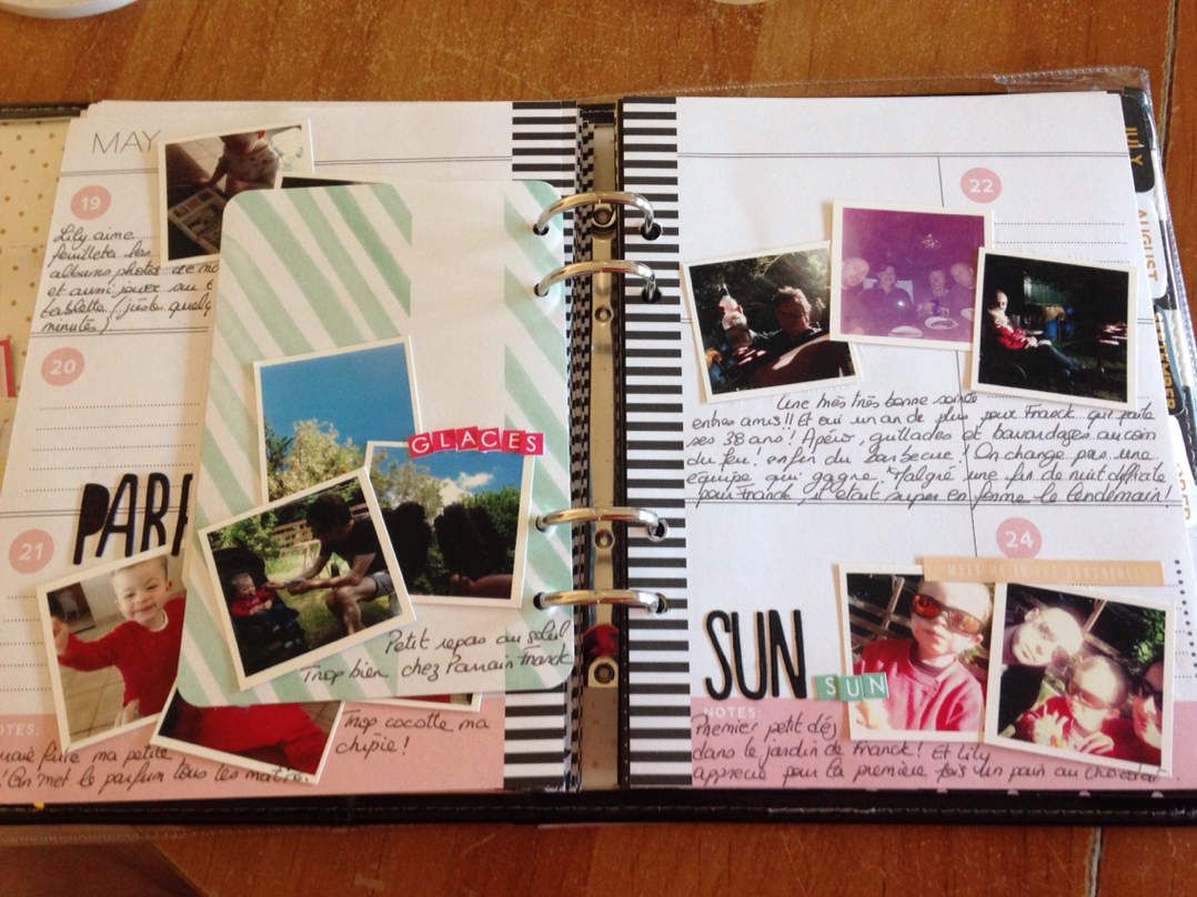 Marilyne : Agenda photo