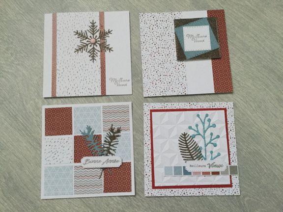 Quelques cartes par Sandrine
