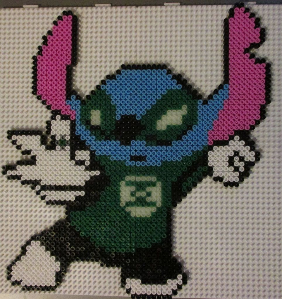 Stitch en perles à repasser