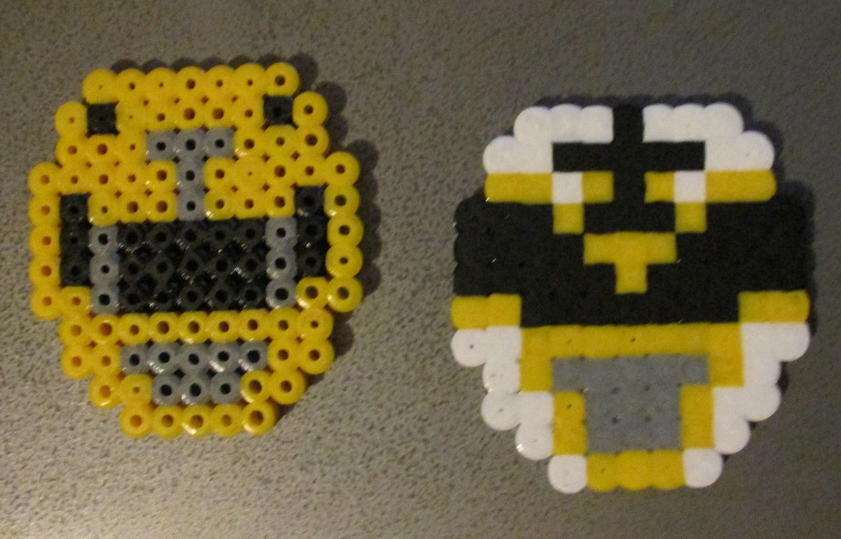 power rangers perler beads