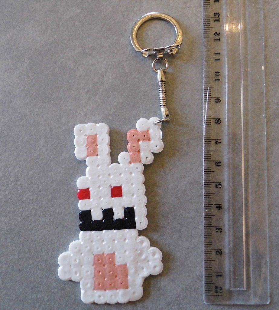 raving rabbids hama beads
