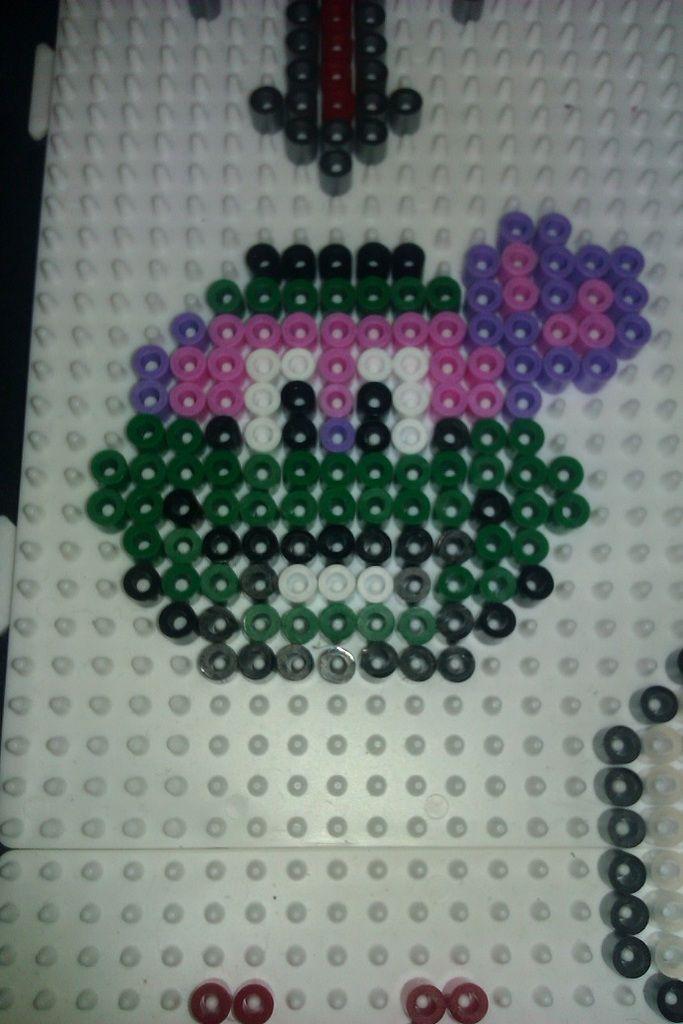 turtle ninja hama beads