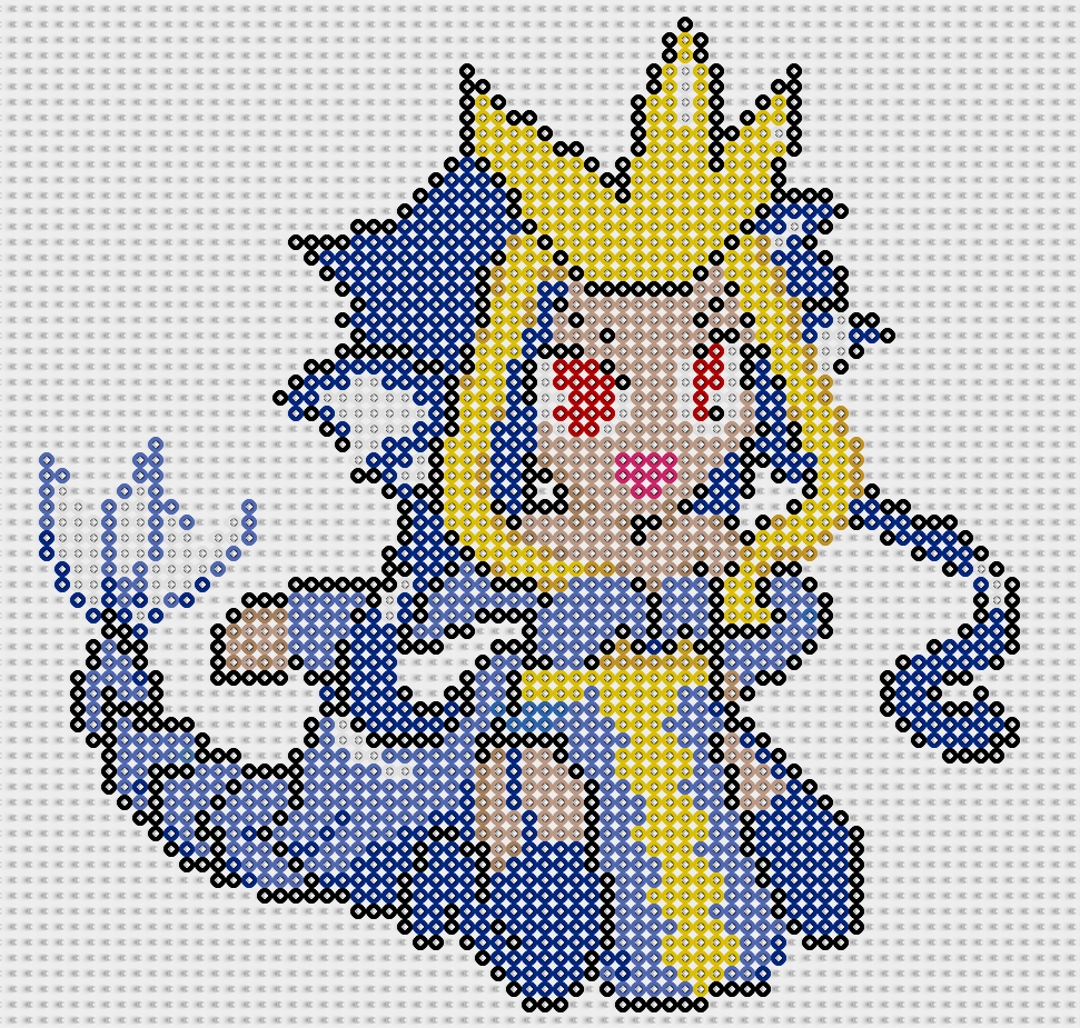 moemon hama beads