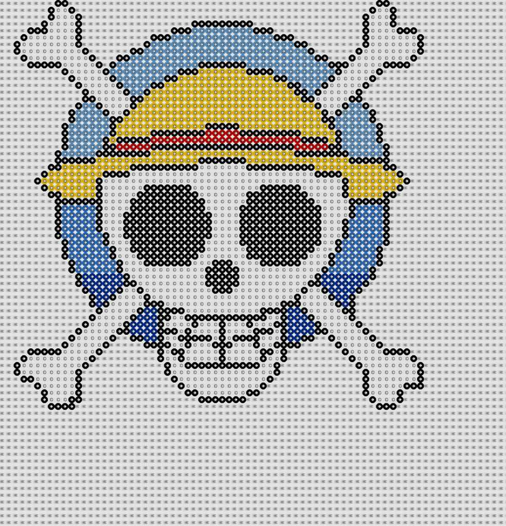 one piece perler bead