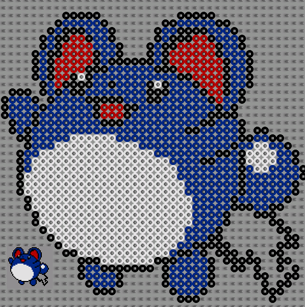 marill hama bead