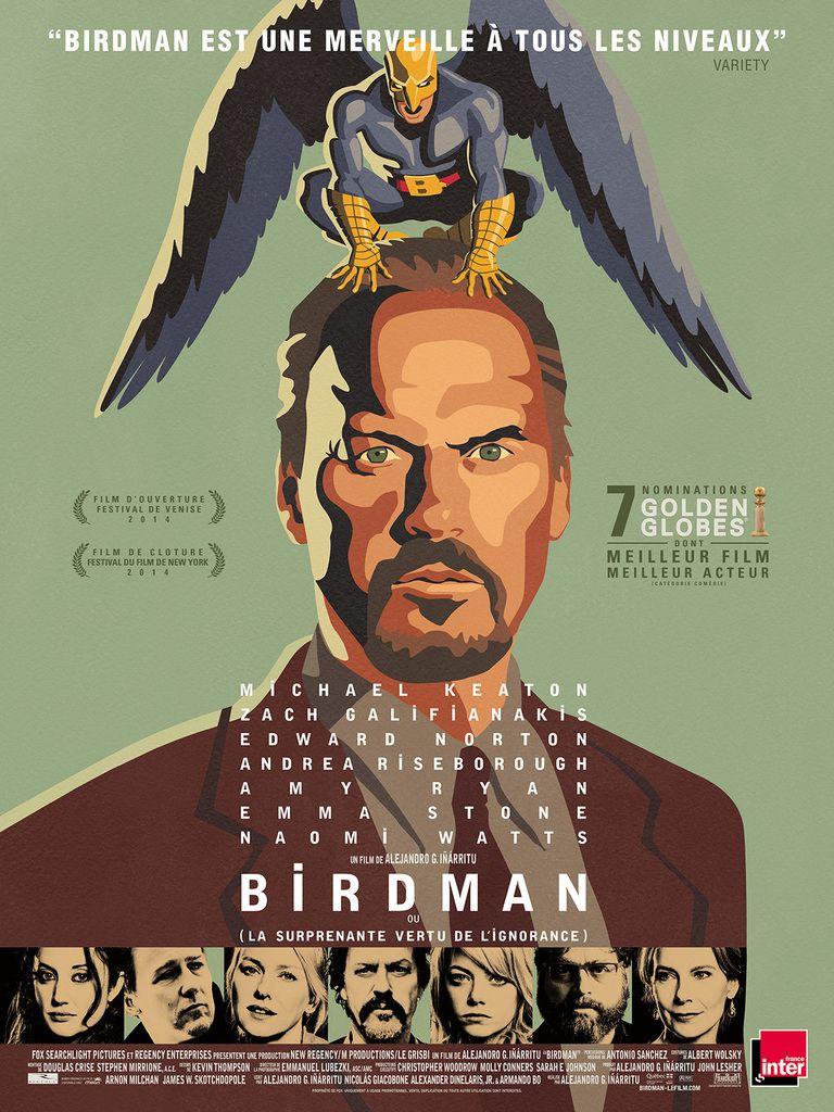 """Alejandro González Iñárritu , """"Birdman"""""""