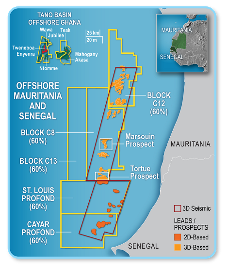 Kosmos finds gas with Guembeul-1 offshore Senegal