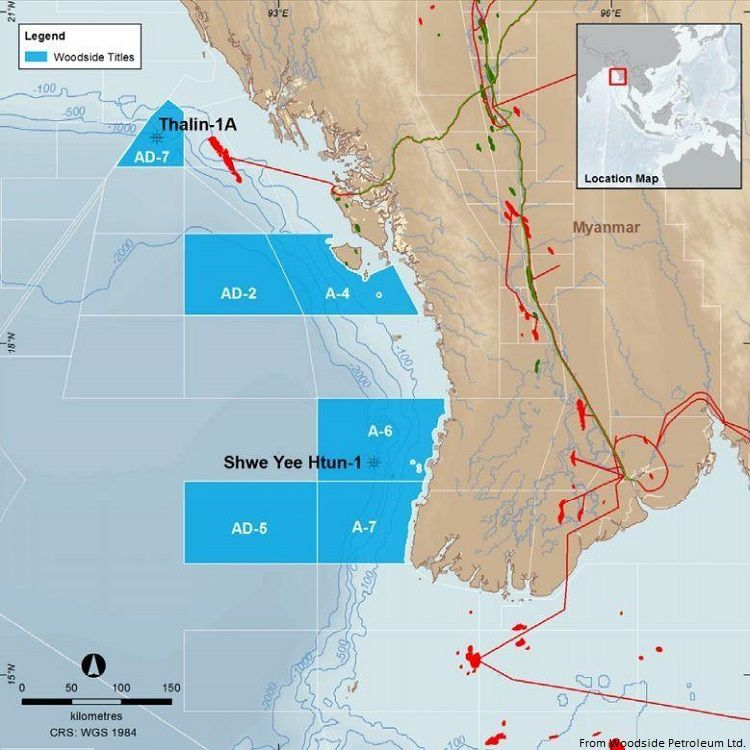 Woodside Makes Second Gas Discovery In Myanmar