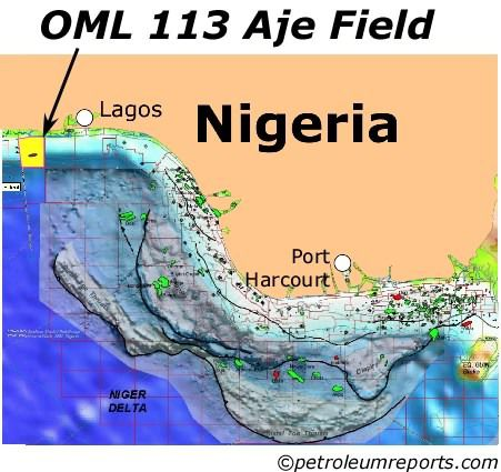 First Oil Flows At Aje Field Offshore Nigeria
