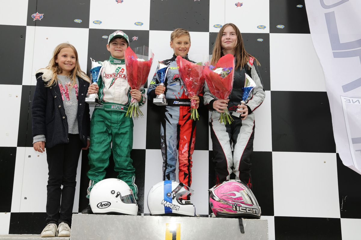 Stars of karting – Marcus doubles up!
