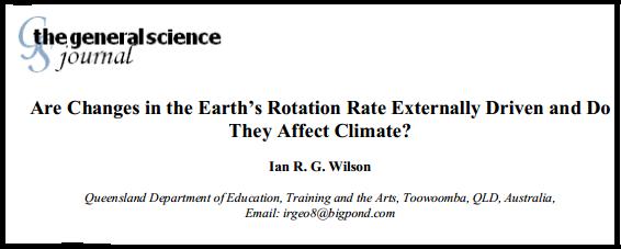 La Terre - oscillation , orbite , et axe de rotation