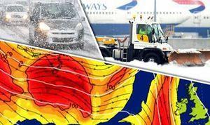 Un froid extrême qui menace l'Angleterre ?
