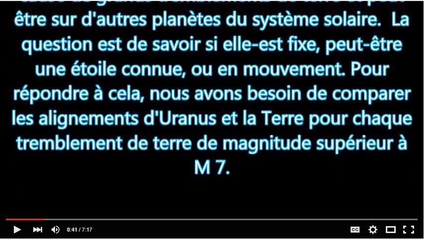 Planète X - partie 1 - localisation