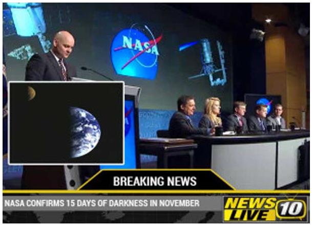 Rumeur - 15 jours de noirceur en novembre - ?