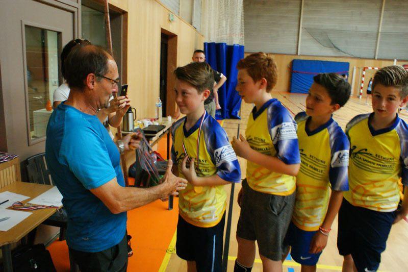 Résultat de notre équipe au championnat régional de Volley ball