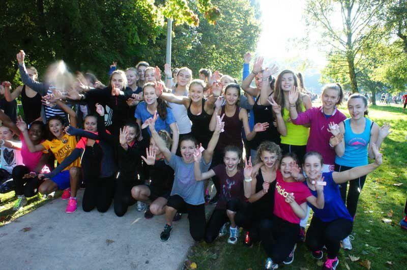 La grande fête du Sport au collège Sainte Famille- 29.09.2015