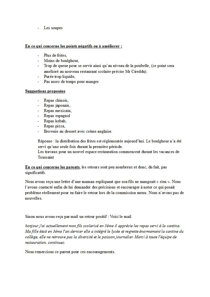 Compte-Rendu Commission menu du 11 octobre 2016